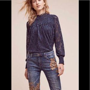 Anthropologie Deletta blouse